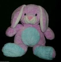 TY SOFT 2003 BABY BUNNY TWITCHY STUFFED ANIMAL PLUSH PLUFFIES PURPLE RAB... - $14.96