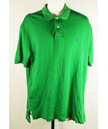 Ralph Lauren Polo Mens Green Polo Shirt Size Large - $13.85