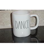 Rae Dunn DANCE Mug, Ivory with Black Lettering - $12.00