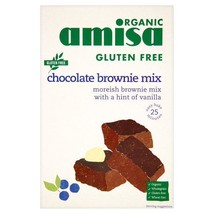 Amisa Organic Gluten Free Chocolate Brownie Mix 400g - $10.40