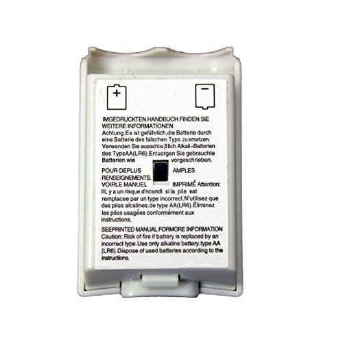 White Battery Pack For Xbox 360 Wireless Controller By Mars Devices