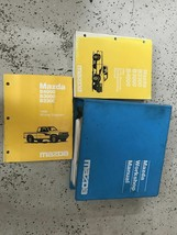 1996 Mazda B-Series Truck Service Repair Shop Workshop Manual Set W EWD ... - $148.45