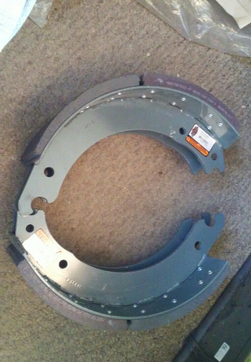 MERITOR PSR2014515Q NEW LINED BRAKE SHOE, NEW