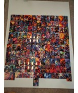 1994 Marvel Masterpieces Lot of 127 Cards Black Panther Spider man Hulk etc - $41.40