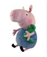 "Ty Beanie Buddy 16"" Plush GEORGE the PEPPA PIG w Dino Pet, LARGE  ~NEW~ - $33.49"
