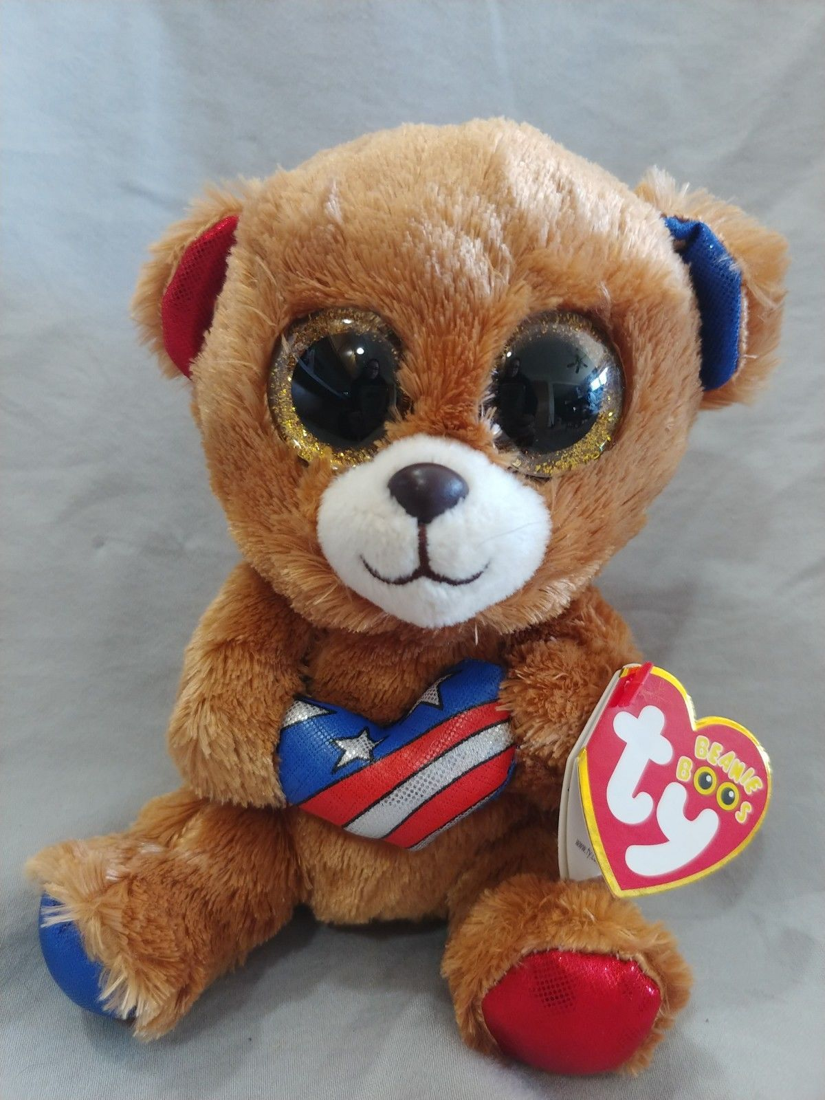 e504c8418f8 Ty Beanie Boo Stars the bear Cracker Barrel and 50 similar items
