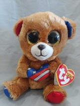 Ty Beanie Boo Stars the bear Cracker Barrel 6 inch - $10.69