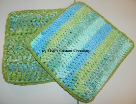 Kitchen Cottons Collection - Hot Pads - 2 PDF Crochet Patterns - $3.99