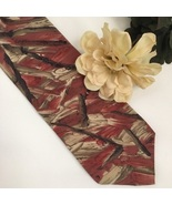 Christian Dior Taupe & Rose silk men's business Tie - $14.95