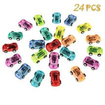 Popuppe Pull Back Cars,24 Packs Mini Push and Go Car,Pullback Racers in ... - £13.34 GBP