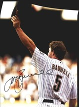 Jeff Bagwell authentic signed baseball 11X14 photo W/Cert Autographed A0023 - $109.95