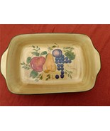 "Home Trends Granada Dish, Lasagna or Casserole, 10"" X 16"" Hand Painted C... - $59.97"