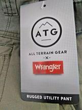 Wrangler All Terrain Gear Utility Pants 5 Pocket Straight Fit SEA GRASS 36X34   image 3