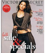 ORIGINAL Vintage Fall 2010 Victoria's Secret Lingerie Catalog Lily Aldridge - $18.55