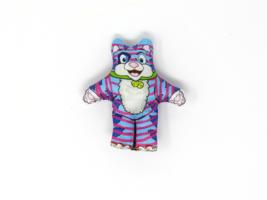 Woof! Prime Catnip Toy Purple Cat - $8.07