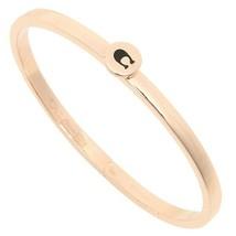 Coach F27186 Women's Bracelet Rose Gold Signature C Iconic Hinged  - $39.59