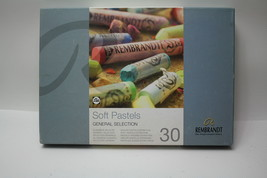 Rembrandt Soft Pastels Set of 30 Full Sticks General Selection Colors 31823031 - $57.91