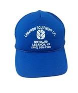 New Holland Lebanon Equipment VA Foam Mesh Trucker Snapback Hat Blue - $34.99