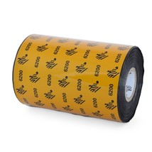 Zebra 6200 4.33 X 1476' Black Resin Ribbon Single Roll 06200BK11045-R - $34.93