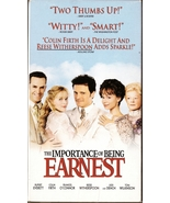 The Importance of Being Earnest VHS Colin Firth Rupert Everett Reese Wit... - $1.99