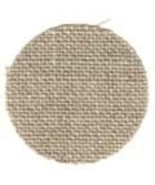 FABRIC CUT 32ct raw natural line 12x12 for Samp... - $8.00