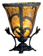 "Meyda Tiffany 22095 Castle Bell Accent Lamp, 13"" Height - $324.00"