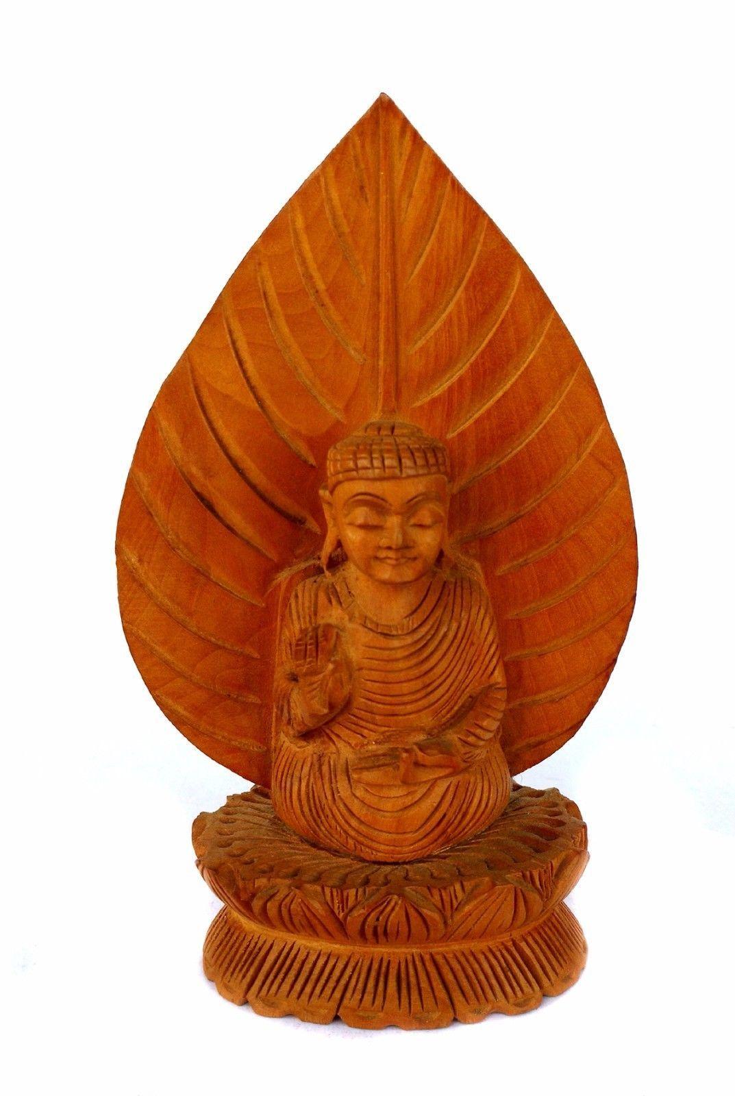 China Buddhism Wood carve Stand Shakyamuni Sakyamuni Buddha statue