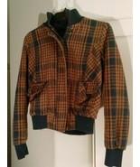 1 plaid brownish orange jacket FOREVER TWENTY ONE - $22.00