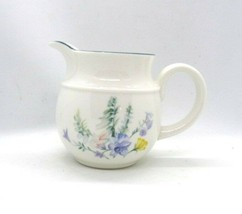 Royal Kent China CREAMER Blue Yellow Pink Floral Staffordshire England T... - $12.86