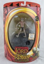 Lord of the Rings Gollum Action Figure with Electronic Sound Toy Biz, Sealed - $9.90