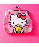 So Cute! Sweet Hello Kitty With Teddy Bear Coin Purse Coin Purse— More F... - $5.00