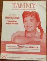 Original 1957 Debbie Reynolds Tammy Sheet Music - $3.60