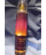 Bath and Body Works New Sunset Glow Fine Fragrance Mist 8 oz - $12.95