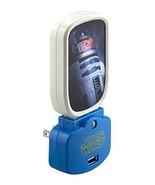 Star Wars R2D2 Night Light with USB Charging  Night Light with USB Charg... - $14.99