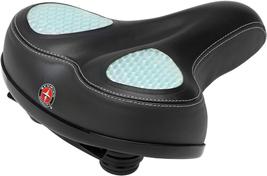 Schwinn Wide Gel Comfort Seat Wide Saddle, Gel, Black - $56.51