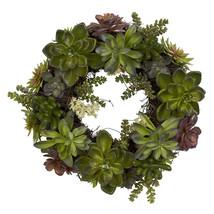 """20"""" Succulent Wreath - $80.30"""