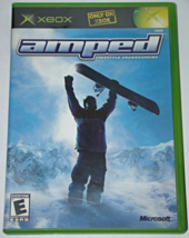 Xbox - amped FREESTYLE SNOWBOARDING (Complete with Manual) - $10.00