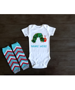 A Very hungry Caterpillar Personalized Onesie Bodysuit Shirt Leggings - $17.00+