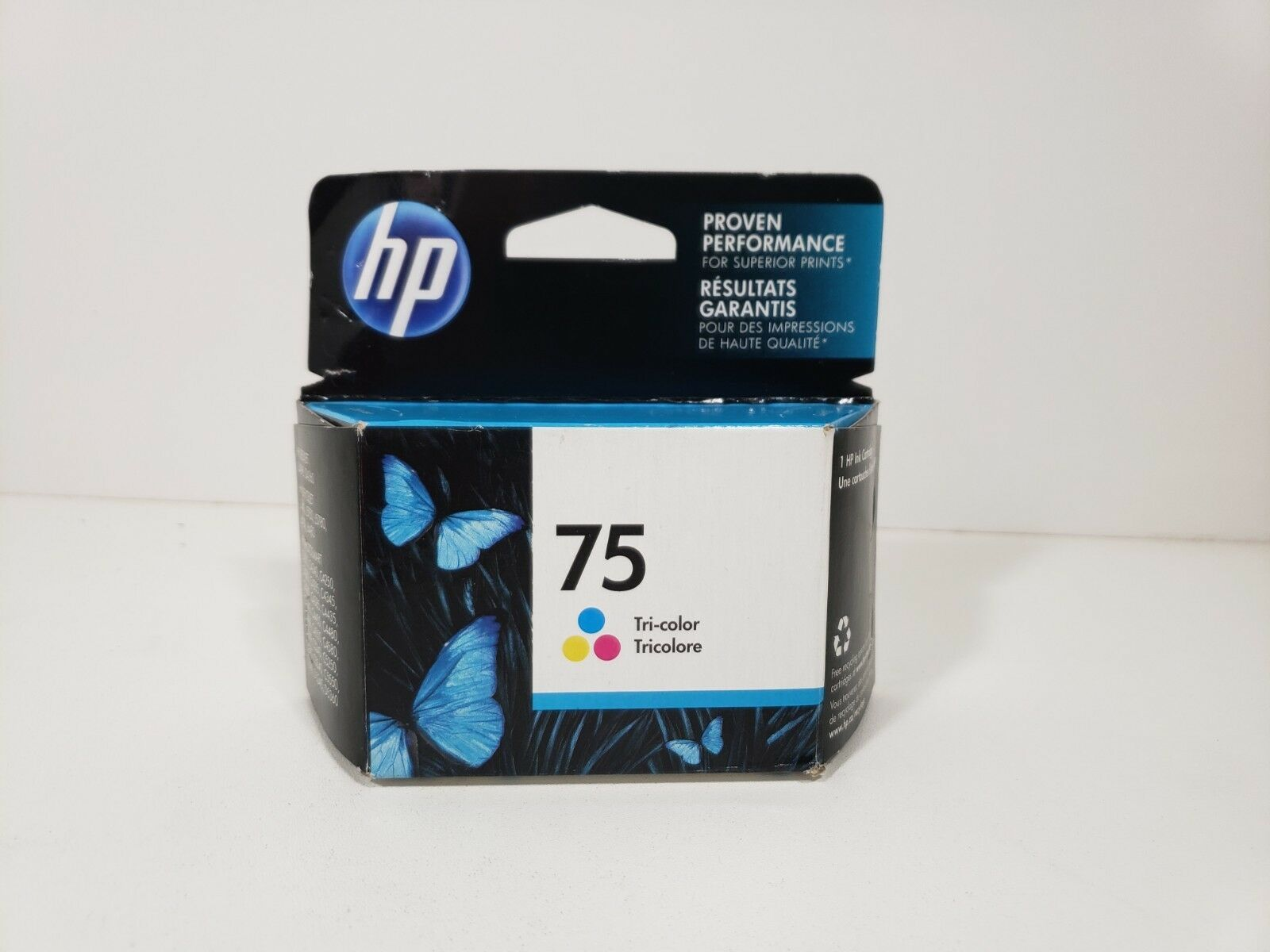HP 75 tri-color ink.. Expired .. Factory Sealed