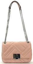 Michael Kors Pastel Pink Vivianne Quilted Leather Shoulder Bag Medium - $249.66