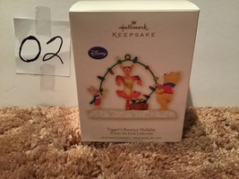 Hallmark Keepsake Ornament Tigger's Bouncy Holiday Winnie the Pooh 2009 NIB - $34.99