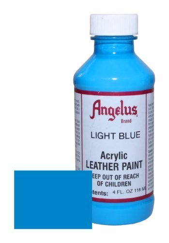 Angelus Acrylic Leather Paint-4oz.-Light Blue
