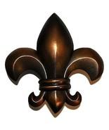 New Michael Healy Designs Fleur De Lys Door Knocker Oiled Bronze - $89.09