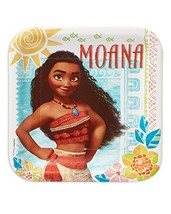 American Greetings Moana Paper Dinner Plates, 8- Count - $8.86
