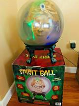 Gemmy 2005 14 inch Zultan Spirit Ball Fortune Teller Large Animated Hall... - $83.79