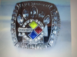 2005 PITTSBURGH STEELERS WORLD CHAMPIONSHIP FANS RING--RB12-2 - $22.00