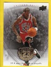 MICHAEL JORDAN 2009 UPPER DECK HALL OF FAME GOLD LEGACY BASKETBALL CARD #37 - $2.98