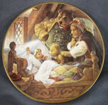 Goldilocks and Three Bears Collector Plate Classic Fairy Tales Scott Gus... - $21.95