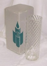 """PartyLite  Optic Colonnade 9"""" Beatiful Hand Blown Glass P7114 - $10.95"""