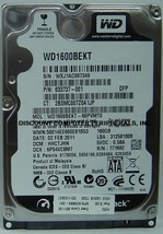 "NEW 160GB SATA 2.5"" 9.5MM 7200RPM Hard Drive WD WD1600BEKT Free USA Shipping"